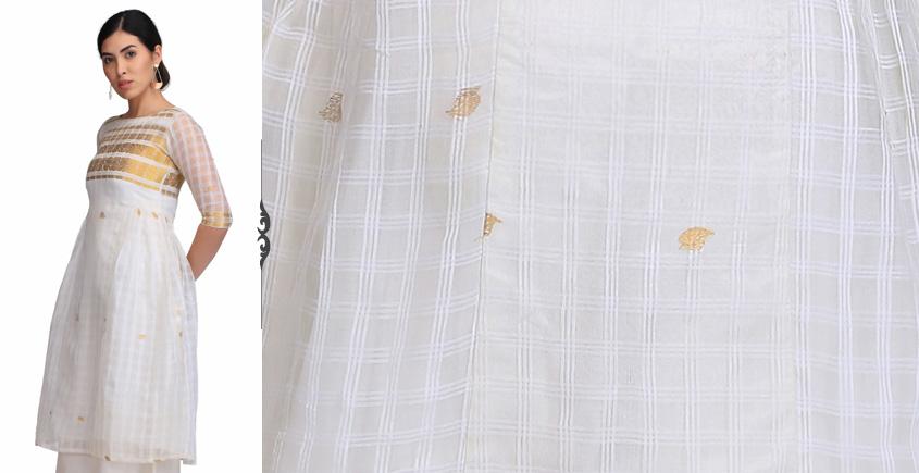 Udipti ❂ Handwoven . Silk Dress ❂ E