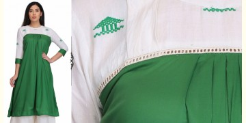 Heuji ❂ Handwoven . Cotton Dress ❂ F