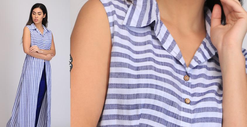 Aas ❂ Handwoven . Cotton Dress ❂ H