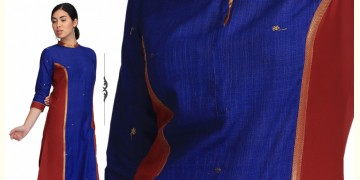 Kalpana ❂ Handwoven . Cotton Dress ❂ L