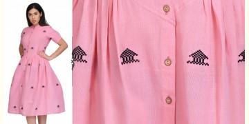 Aditri ❂ Handwoven . Cotton Dress ❂ O