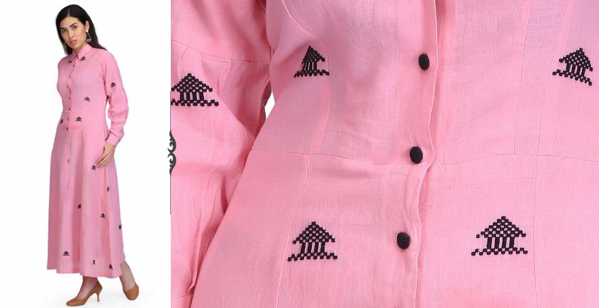 Yanti ❂ Handwoven . Cotton Dress ❂ Q