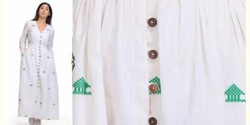 Rubrat ❂ Handwoven . Cotton Dress ❂ 1
