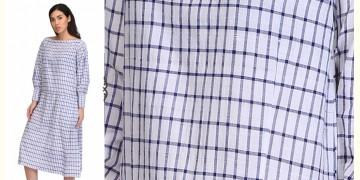 Tanka ❂ Handwoven . Cotton Dress ❂ 2