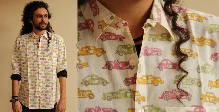 परख ✤ Sanganeri ✤ Cotton Shirt ( full sleeve ) ~ 11