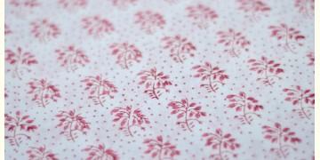 Sanganeri fabric ~ 18 (Block Printed . Per Meter)