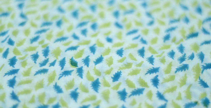 Sanganeri fabric ~ 19 (Block Printed . Per Meter)