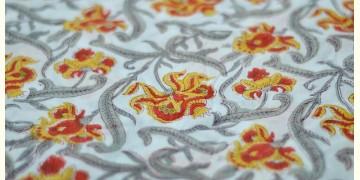 Sanganeri fabric ~ 22 (Block Printed . Per Meter)