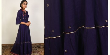 Nivriti ❊ Blue Panel Long Dress ❊ 1