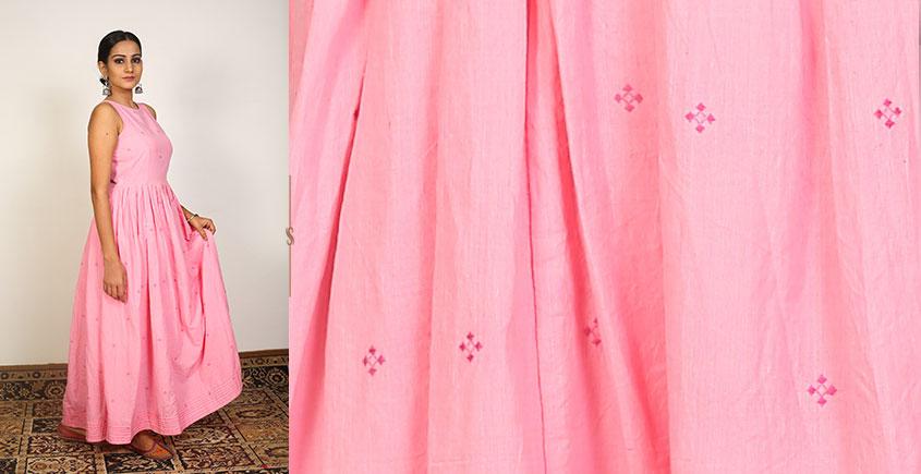 Nivriti ❊ Pink gathered long dress ❊ 2