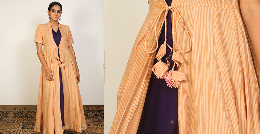 Nivriti ❊ Honey blue overlay dress ❊ 4
