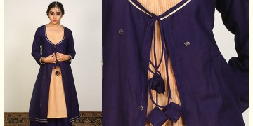 Nivriti ❊ Blue layered kurta and palazzo set ❊ 8
