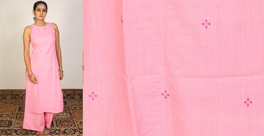 Nivriti ❊ Pink straight fit kurta and palazzo set ❊ 15