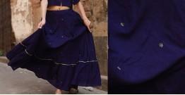 Nivriti ❊ Blue flare skirt ❊ 9