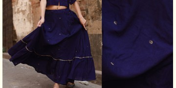 Nivriti ❊ Blue flare skirt ❊ 9