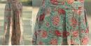 Albeli ♠ Hand block printed ♠ Floral pink palazzo ♠ 5