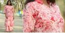 Albeli ♠ Hand block printed ♠ Floral stand collar kurti ♠ 25