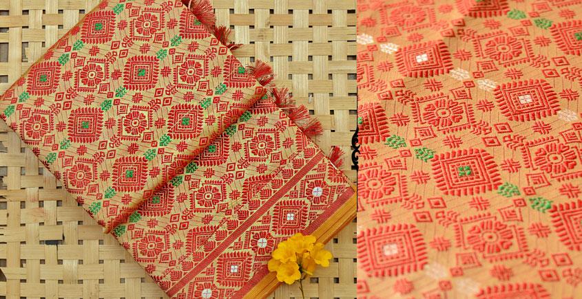 Vijul ❋ Assamese Handwoven ❋ Silk Saree ❋ 11