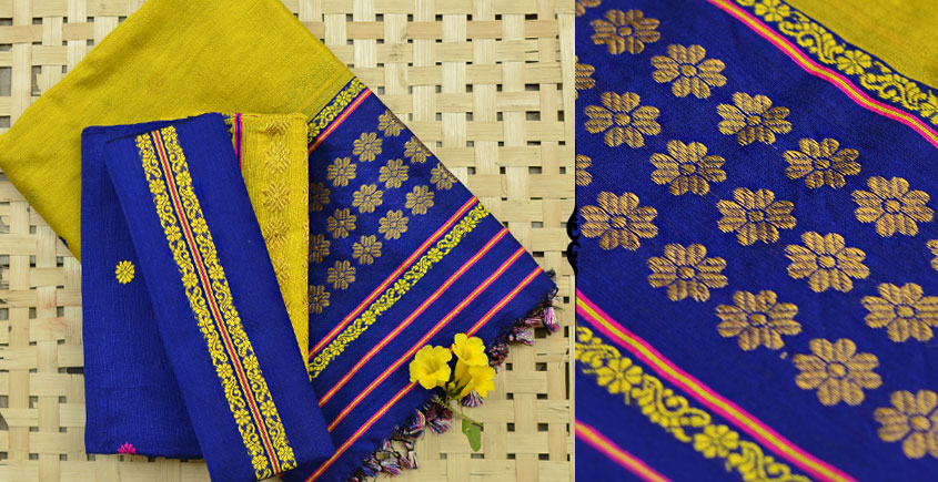 Vijul ❋ Assamese Handwoven ❋ Mekhela Sador ❋ 1