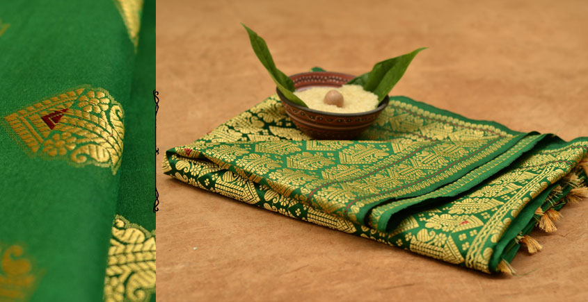 Sualkuchi Silk Saree ~ 1