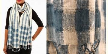 Eri silk (Ahimsa-silk) Stole ~ 1
