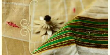 Sualkuchi Cotton Tussar Dupatta ~ (Muga - Xeujiya)