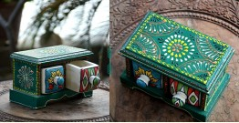 Azur ᴥ Blue Pottery Jewelary Box ᴥ 39