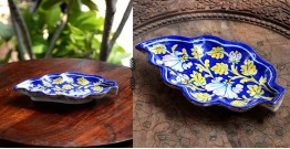 Azur ᴥ Blue Pottery Serving Tray ᴥ 45