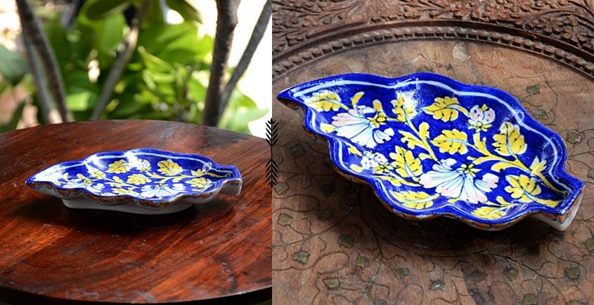 Azur ᴥ Blue Pottery Serving Tray ᴥ 45