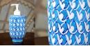Azur ᴥ Blue Pottery Liquid Dispenser ᴥ 47