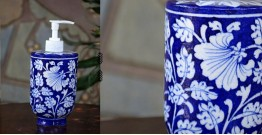 Azur ᴥ Blue Pottery Liquid Dispenser ᴥ 48