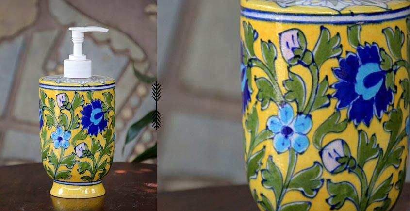 Azur ᴥ Blue Pottery Liquid Dispenser ᴥ 49