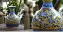 Azur ᴥ Blue Pottery Matka Vase ᴥ 51