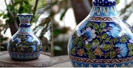 Azur ᴥ Blue Pottery Matka Vase ᴥ 52