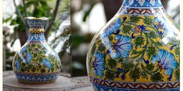 Azur ᴥ Blue Pottery Matka Vase ᴥ 53