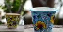 Azur ᴥ Blue Pottery Planter ᴥ 55