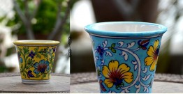 Azur ᴥ Blue Pottery Planter ᴥ 55