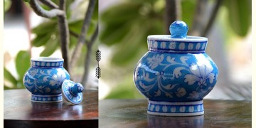 Azur ᴥ Blue Pottery Sugar Pot ᴥ 56