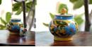 Azur ᴥ Blue Pottery Sugar Pot ᴥ 57