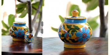 Azur ᴥ Blue Pottery Sugar Pot ᴥ 57