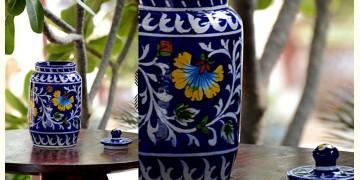 Azur ᴥ Blue Pottery Masala Jar ᴥ 59