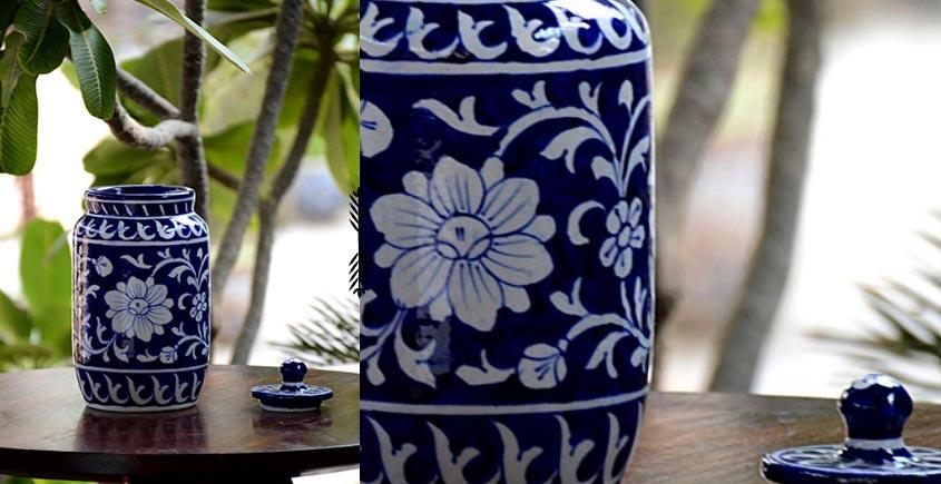 Azur ᴥ Blue Pottery Masala Jar ᴥ 60