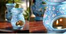 Azur ᴥ Blue Pottery Burner ᴥ 1
