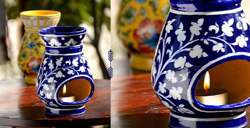 Azur ᴥ Blue Pottery Burner ᴥ 2