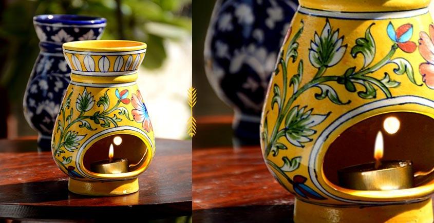 Azur ᴥ Blue Pottery Burner ᴥ 3
