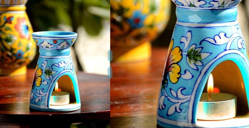 Azur ᴥ Blue Pottery Burner ᴥ 6