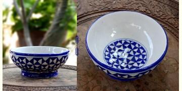 Azur ᴥ Blue Pottery Bowl ᴥ 10