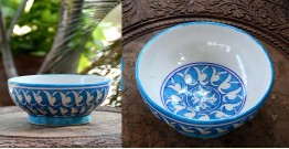 Azur ᴥ Blue Pottery Bowl ᴥ 11