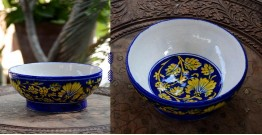 Azur ᴥ Blue Pottery Bowl ᴥ 12