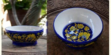 Azur ᴥ Blue Pottery Bowl ᴥ 12